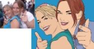 Rebecca & Gemma Comparison
